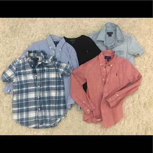 Polo shirts size 6 Great condition